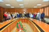 رئيس جامعة أسيوط يلتقي 20 طالباً روسياً من جامعتي داغستان وبيتاجورسك في بداية زيارتهم للجامعة