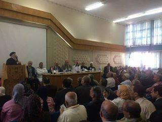 الملتقى الاول  لدور الجمعيات الاهلية للتصدى للارهاب برعاية وزارة الدخلية ومحافظ الاسكندرية