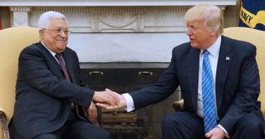 بعد زيارة أبومازن.. ترامب: نسعى لاتفاق بين فلسطين وإسرائيل للتعايش فى سلام