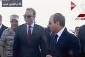 الرئيس السيسي يفتتح كوبرى محور جرجا على النيل بسوهاج