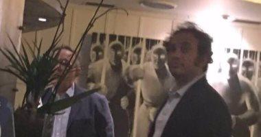حمزاوى وخالد على و 9 نشطاء فى اجتماع سرى بإيطاليا