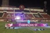 الأهلى ينهى استعدادات احتفالية الدورى الـ39 على ملعب التتش