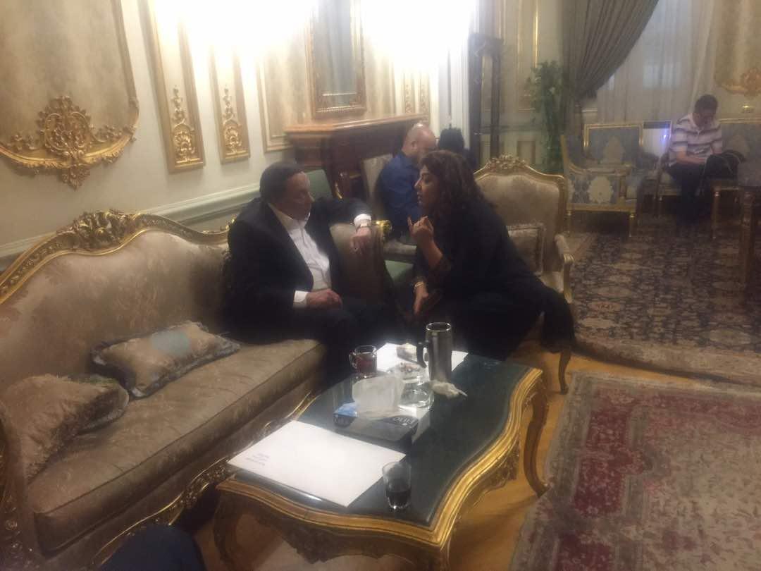 """عادل إمام يصل مجلس النواب لتصوير """"عفاريت عدلى علام"""" تحت القبة"""