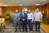 سبل التعاون والعمل المشترك فى مجال التدريب والتأهيل بين جامعتي أسيوط وعدن اليمنية