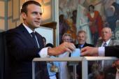 حزب ماكرون يفوز بالأغلبية فى الانتخابات التشريعية الفرنسية ويحصد 352 مقعدا