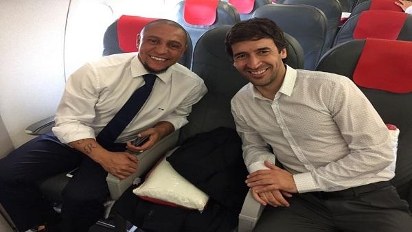 """نهائي دوري الأبطال.. رءول وكارلوس مع ريال مدريد في """"كارديف"""""""