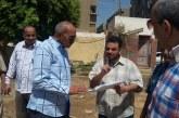 رئيس مركز ديروط يتفقد أعمال إنشاء المدارس الجديدة ويزور المستشفى المركزى
