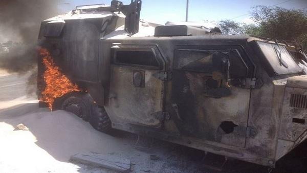 استشهاد 4 جنود وإصابة 6 في هجومين بالعريش