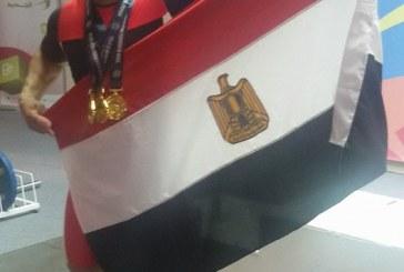 محمد إيهاب يتوج بالميدالية الذهبية فى البطولة الأفريقية لرفع الأثقال