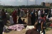 أمن الإسكندرية يفرض كردونًا تمهيدًا لرفع أنقاض حادث تصادم القطارين