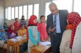 تعليم أسيوط يواصل فحص ملفات الطلاب المقبولين بالمدرسة المصرية اليابانية