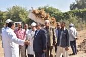 محافظة أسيوط تنفذ تجربة تحويل المخلفات الزراعية لسماد عضوى للقضاء على ظاهرة الحرق المكشوف