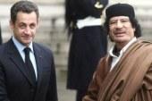احتجاز ساركوزى لأول مرة للتحقيق معه فى تمويل القذافى لحملته الانتخابية بـ2007