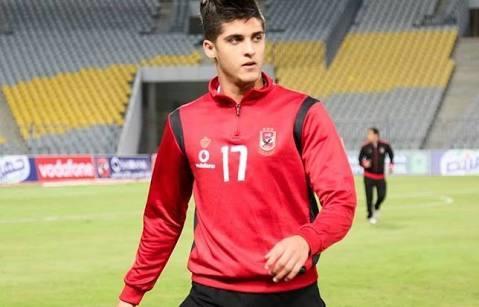 أحمد الشيخ يشارك فى مران الأهلى
