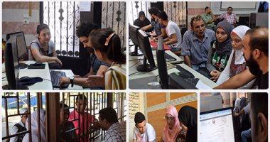 جامعة عين شمس تستقبل طلاب المرحلة الثانية للتنسيق لتسجيل الرغبات