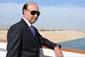 مهاب مميش: عبور 231 سفينة قناة السويس بحمولة 15.2 مليون طن فى 5 أيام