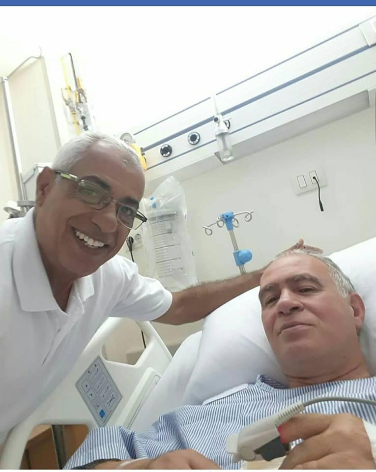 جراحة قلب ناجحة لرئيس النادى الأوليمبى