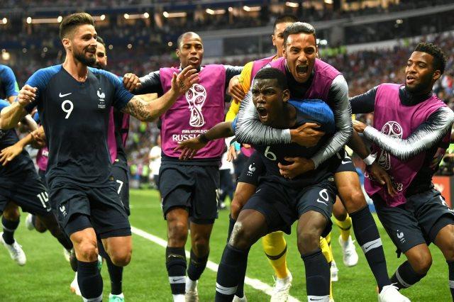فرنسا بطل كاس العالم 2018 للمرة الثانية فى تاريخها