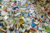 محل تجارى بالبدارى يبيع ادويه وضبط 7 ألاف قرص برشام و105 زجاجة دواء و600 سرنجة