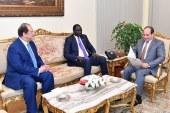 السيسي يتلقى دعوة لحضور الجلسة الافتتاحية لمفاوضات السلام في جنوب السودان.