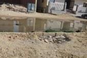 مشكلة الصرف الصحي في الهضبه الوسطى