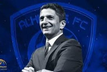 مدرب الهلال الأفضل فى الدوري السعودى عن شهر سبتمبر