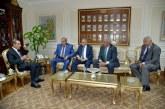 محافظ أسيوط يلتقى رئيس جامعة الازهر لبحث سبل التعاون والدعم للمشروعات القومية