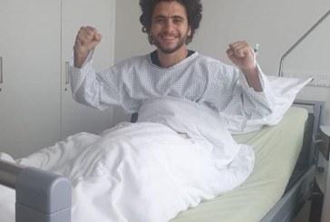 محمد محمود في غرفة العمليات