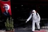 76 حالة وفاة وإصابة اكثر من 3000 آخرين في تركيا بسبب كورونا