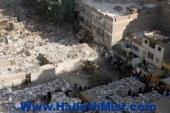نظافة القاهرة: 4300 طن مخلفات نقل العشش بعزبة النخل بعد هدمها