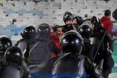 24 مصاب فى احداث استاد القاهرة