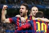 برشلونة يضرب مانشستر سيتى بثنائية فى أبطال أوروبا