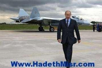 بوتين للمشير «السيسى»: أتمنى لك النجاح فى الانتخابات الرئاسية