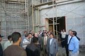 رئيس جامعة سوهاج ونائبه  يتفقدان الجامعة الجديدة بالكوامل