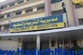 العشرات من معلمي قرى غرب طما ينظمون وقفة احتجاجية بسبب رفع التعريفة