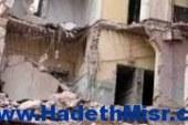 انهيار 15 منزل في طهطا  وإصابة 10 أشخاص نتيجة السيول