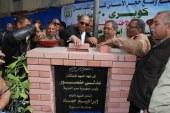 محافظ أسيوط يضع حجر أساس كوبرى 30 يونيو بوسط المدينة ويعلن عن خطة لتحقيق السيولة المرورية