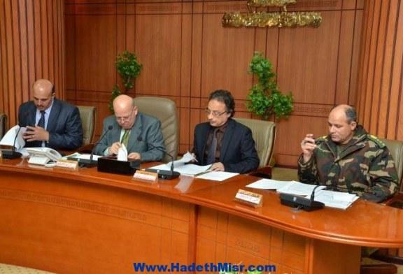محافظ بورسعيد يتراس اجتماع المجلس التنفيذى للمحافظة