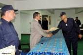 مدير أمن البحر الأحمر يكرم 40 فرد من الحماية المدنية تقديراً لجهودهم