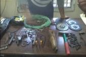 ضبط ورشة لتصنيع الأسلحة ببندر ديروط