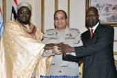 السيسى يلتقي مبعوث الرئيس السنغالي