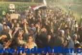 مسيرات لانصار المعزول بقرية دلجا عصرا اليوم بالمنيا