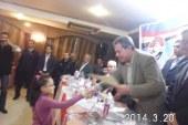 المؤتمر الاول لائتلاف محبى مصر  شعاره ( معا من اجل حب مصر)