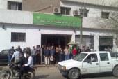 اضراب مكاتب بريد المنيا للمطالبة بالحد الادنى للاجور والمساواة بين باقى موسسات الدولة