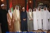 """""""شيخ الأزهر"""" يستقبل """"وزير الدولة الإماراتي"""" والوفد المرافق"""