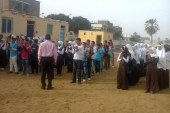 بالصور افتتاح مدرسة ام برق الاعدادية بملوى
