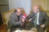 محافظ بورسعيد يشارك اللاعب الدولي محمد شاهين عيد ميلادة ال 72