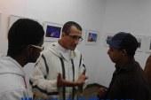 """الفنان المغربى""""حميد فوزى"""" فى معرض فنى مشترك بالقاهرة"""