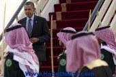 أوباما يصل إلى الرياض للقاء العاهل السعودي