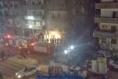 حريق هائل بصيدلية الفتح بشارع الهلالى باسيوط دون خسائر فى الأرواح